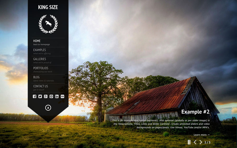 king-size-fullscreen-photography-wordpress-theme