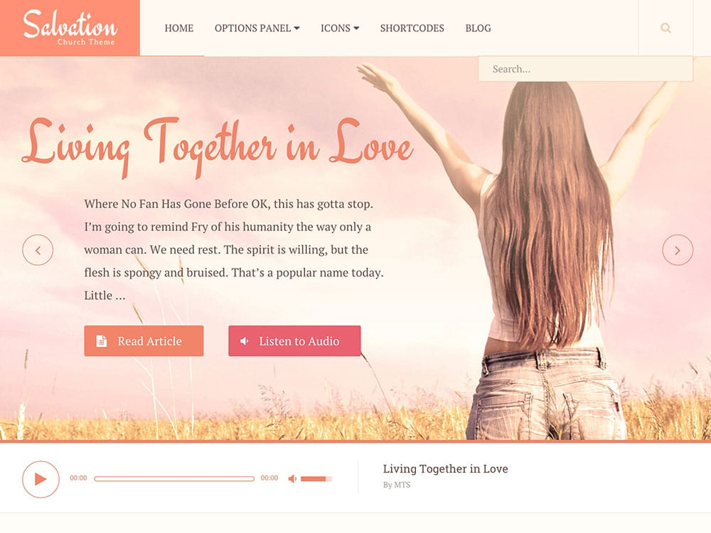 Best Church WordPress Themes