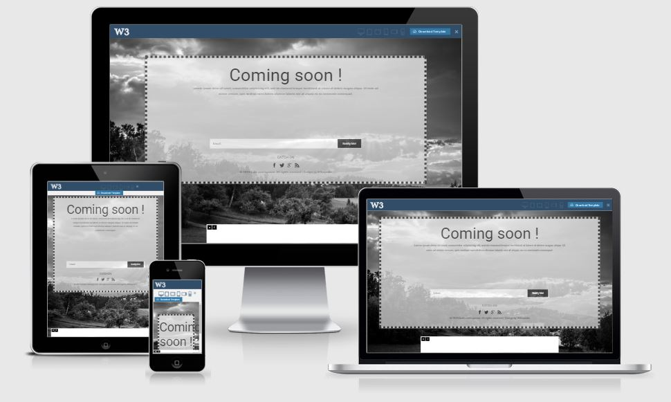 20+ Best Free Coming Soon Html Templates, Under Construction Templates