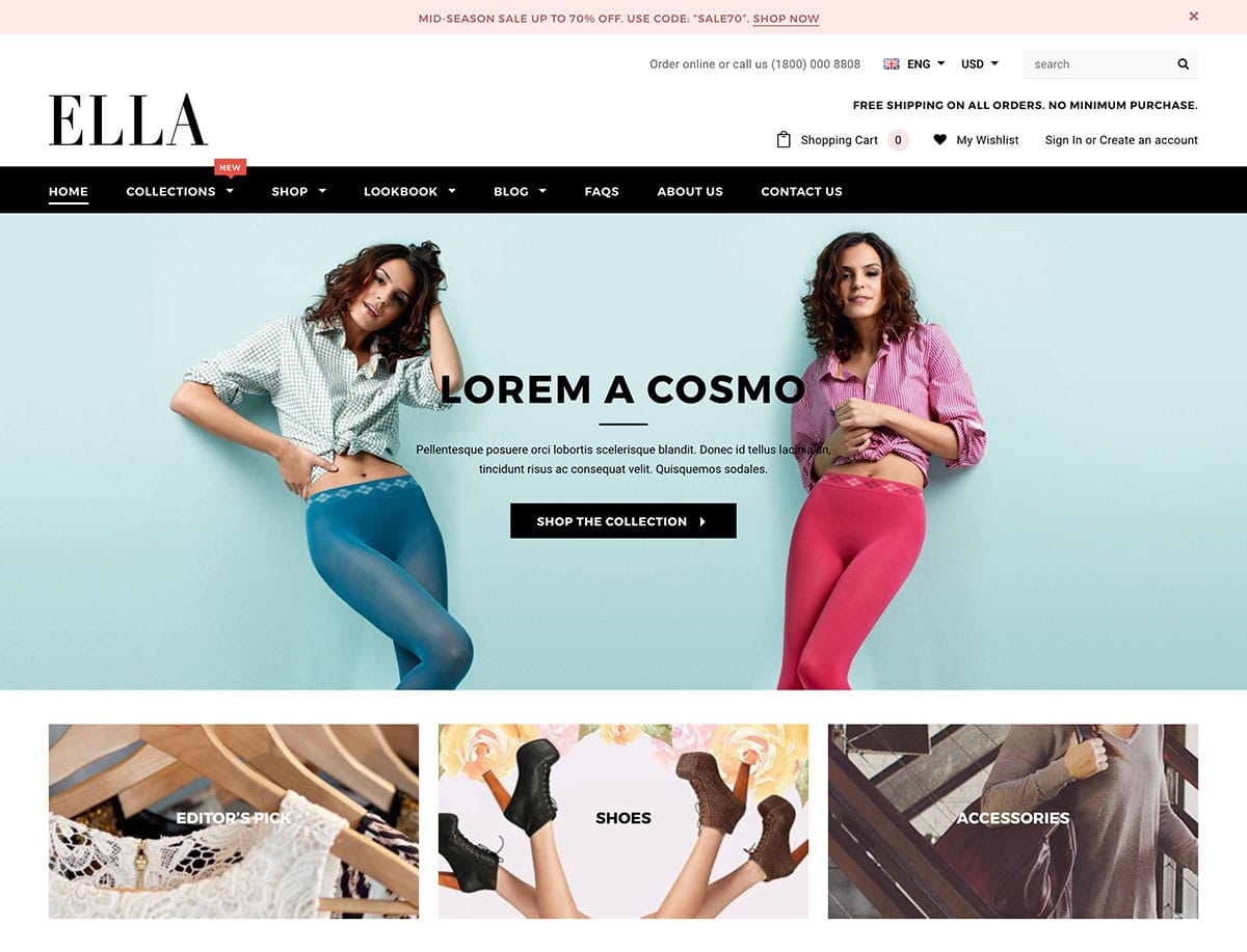 25+ Top Best Shopify Themes 2018 - Themelibs