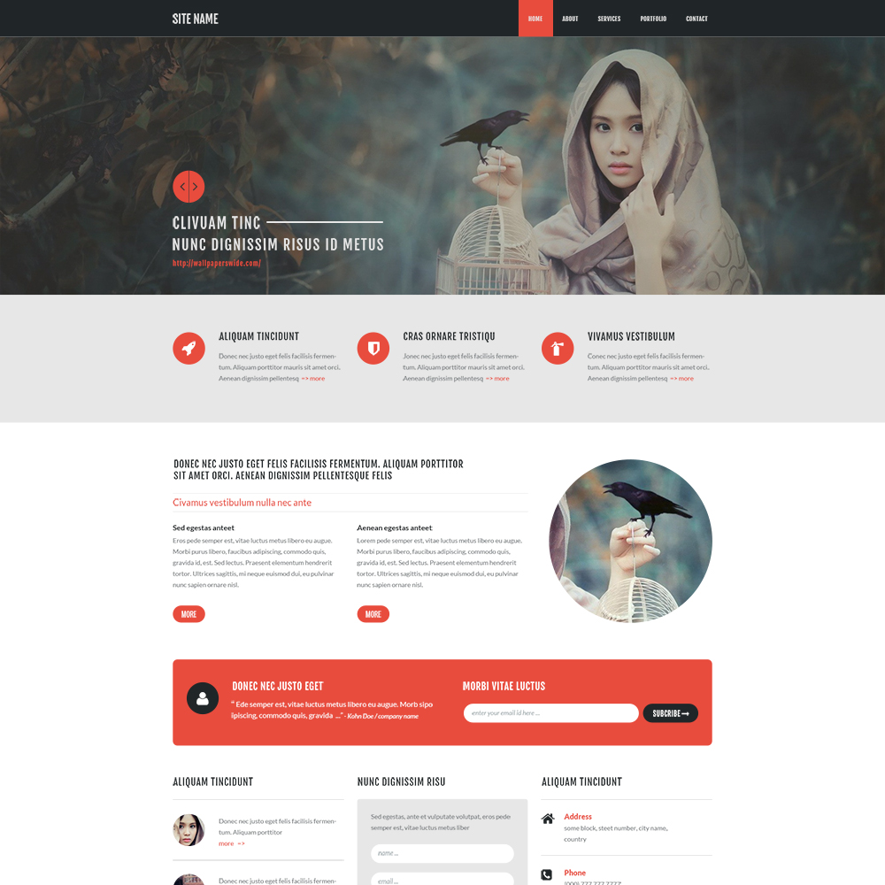 15 best free psd website templates 2018 themelibs