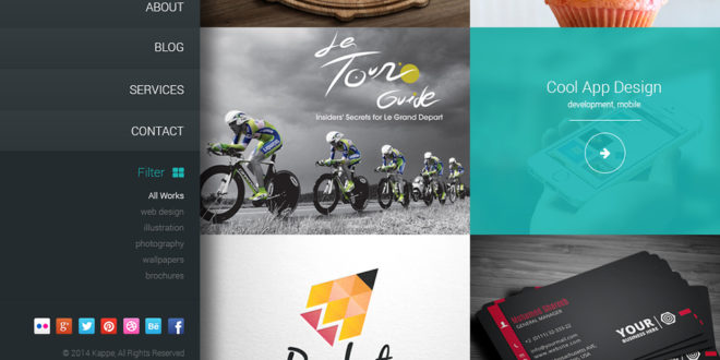 Best Free PSD Website Templates Themelibs - Brochure website templates