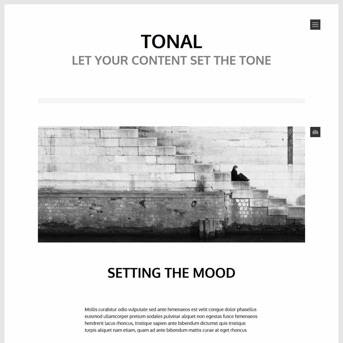 Free Minimalist WordPress Themes