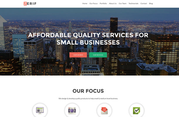 Best Parallax WordPress Themes