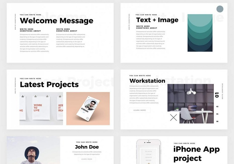 Best Free Keynote Templates For Apple   Themelibs