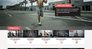 Free Fitness WordPress Themes