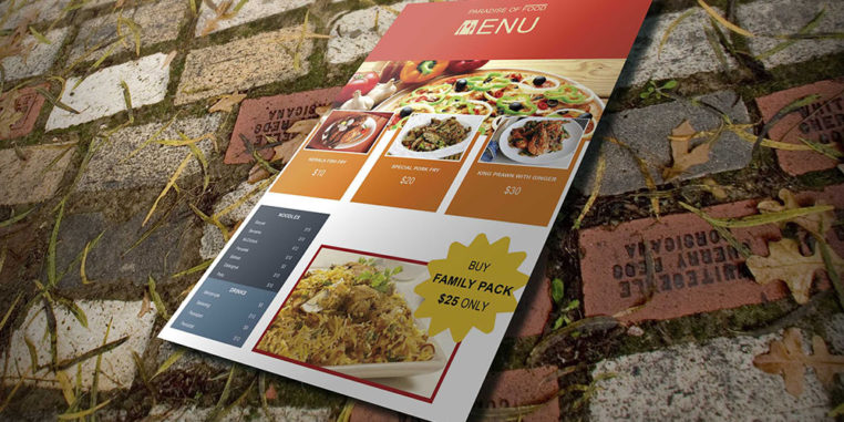 Best Free Restaurant Menu Templates In Themelibs - Take out menu template free