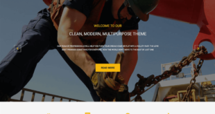 Free Construction Website Templates