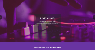 Free Night Club Website Templates