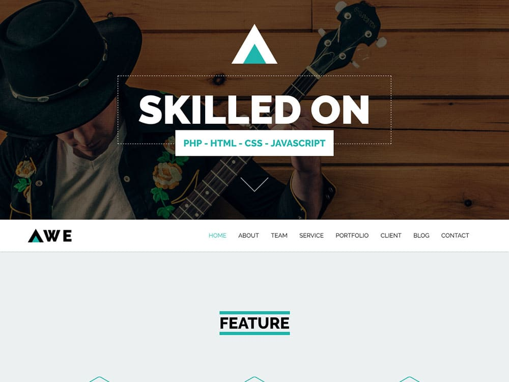 25 Best Free One Page Wordpress Themes 2018 Themelibs