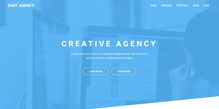 Free One Page Website Templates