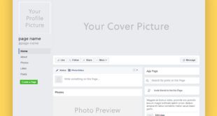 Facebook Page Mockup Templates