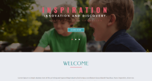 Free School Website HTML Templates